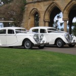 Abbotsbury Wedding Cars - Two Jaguars MK4 1946