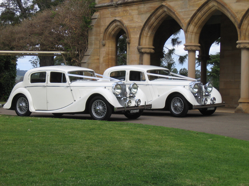 Charmant Abbotsbury Wedding Cars   Two Jaguars MK4 1946