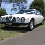 Abbotsbury Wedding Cars - Jaguar Series 3 1985